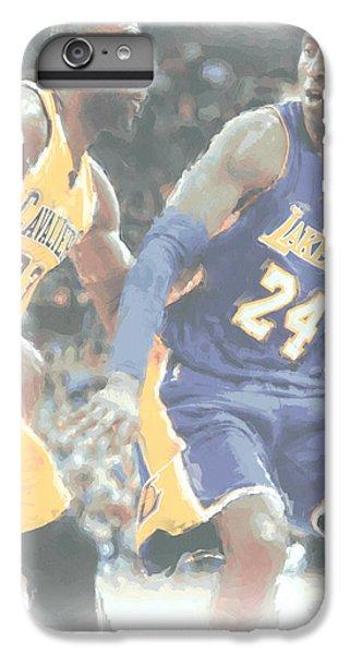 Kobe Bryant Lebron James 2 IPhone 6 Plus Case