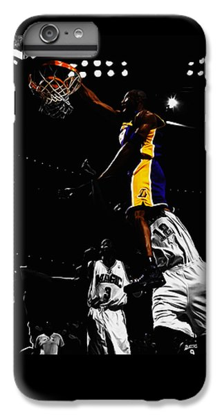 Kobe Bryant On Top Of Dwight Howard IPhone 6 Plus Case by Brian Reaves