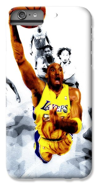 Kobe Bryant Took Flight IPhone 6 Plus Case by Brian Reaves
