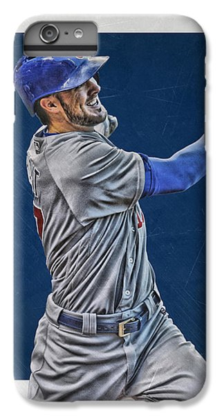Kris Bryant Chicago Cubs Art 3 IPhone 6 Plus Case by Joe Hamilton