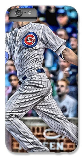 Kris Bryant Chicago Cubs IPhone 6 Plus Case by Joe Hamilton