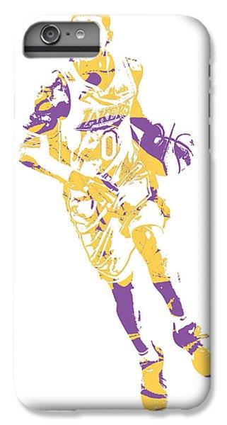 1659f9b44f0c8 Lakers iPhone 6 Plus Case - Kyle Kuzma Los Angeles Lakers Pixel Art 10 by  Joe