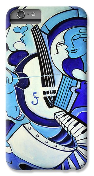 Abstract iPhone 6 Plus Case - L Amour Ou Quoi 2 by Valerie Vescovi