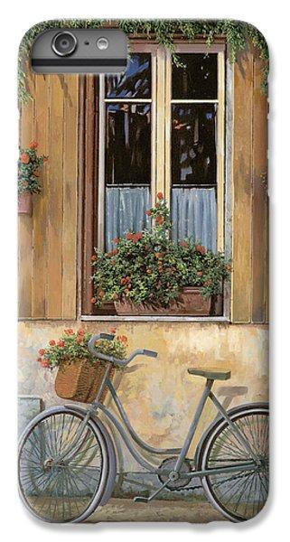 Bicycle iPhone 6 Plus Case - La Bici by Guido Borelli