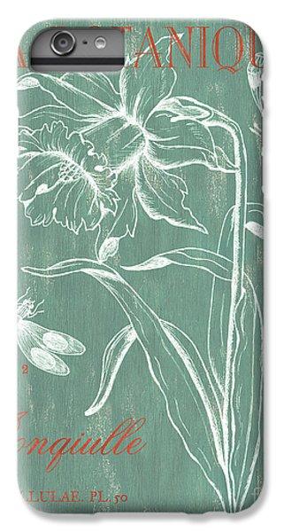 Nature iPhone 6 Plus Case - La Botanique Aqua by Debbie DeWitt