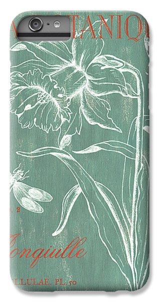 Dragon iPhone 6 Plus Case - La Botanique Aqua by Debbie DeWitt