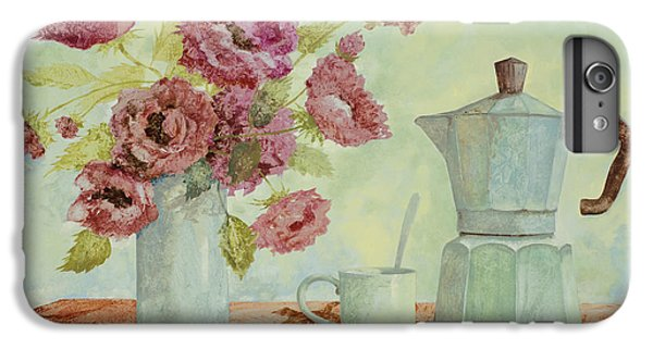 La Caffettiera E I Fiori Amaranto IPhone 6 Plus Case