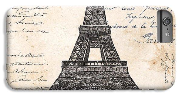 La Tour Eiffel IPhone 6 Plus Case by Debbie DeWitt
