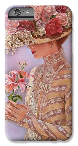 Lily iPhone 6 Plus Case - Lady Jessica by Sue Halstenberg