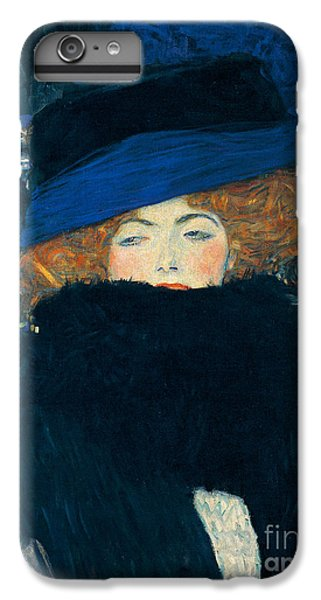 Lady With A Hat And A Feather Boa IPhone 6 Plus Case