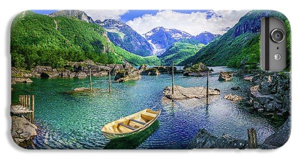 Landmarks iPhone 6 Plus Case - Lake Bondhusvatnet by Dmytro Korol