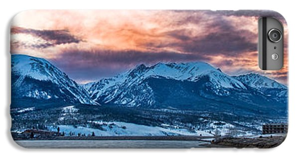 IPhone 6 Plus Case featuring the photograph Lake Dillon by Sebastian Musial
