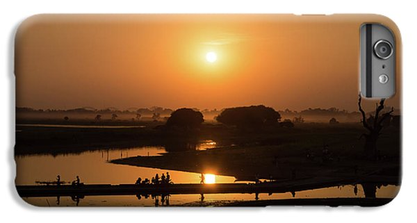 Burmese Python iPhone 6 Plus Case - Lake Taungthaman by Delphimages Photo Creations