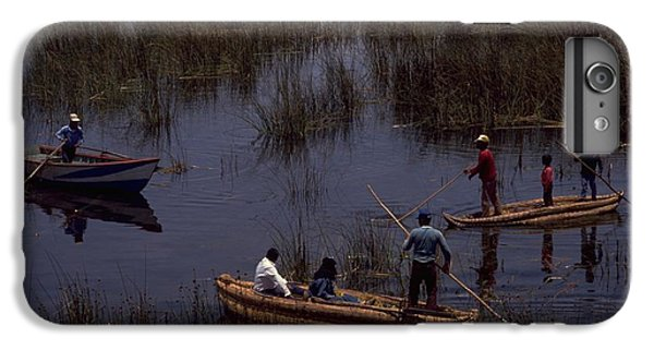 Lake Titicaca Reed Boats IPhone 6 Plus Case