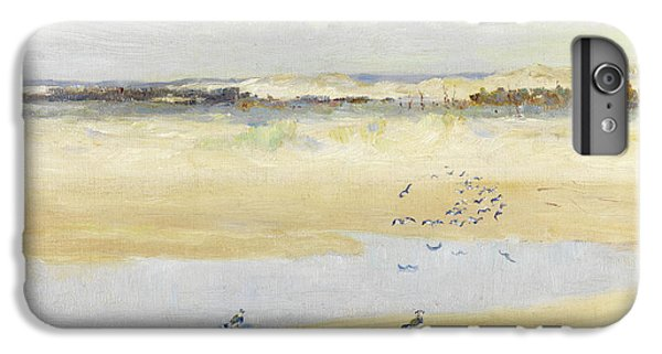 Lapwings By The Sea IPhone 6 Plus Case by William James Laidlay