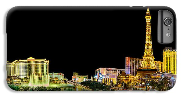 Las Vegas At Night IPhone 6 Plus Case by Az Jackson