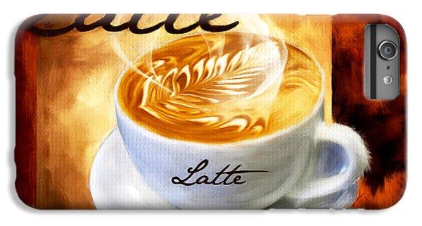 Latte IPhone 6 Plus Case by Lourry Legarde