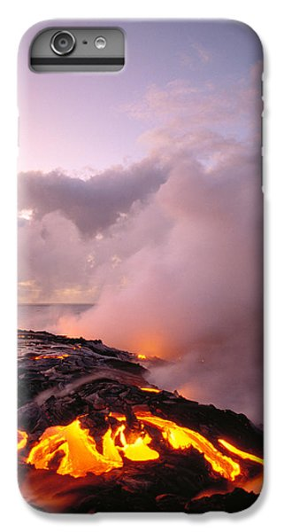 Lava Flows At Sunrise IPhone 6 Plus Case by Peter French - Printscapes