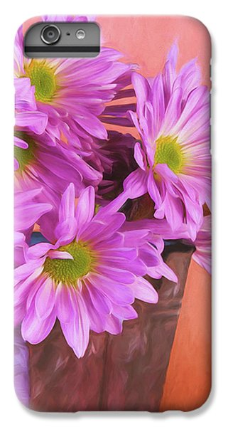 Daisy iPhone 6 Plus Case - Lavender Daisies by Tom Mc Nemar