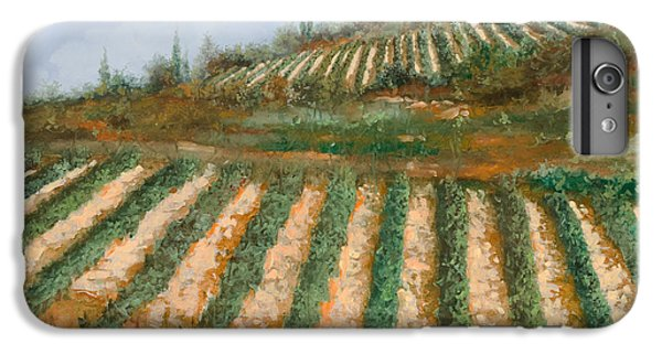 Wine iPhone 6 Plus Case - Le Case Nella Vigna by Guido Borelli