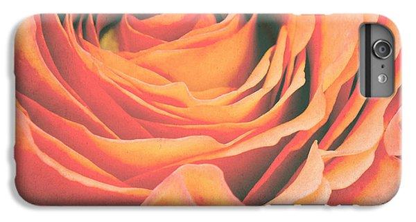 Rose iPhone 6 Plus Case - Le Petale De Rose by Angela Doelling AD DESIGN Photo and PhotoArt