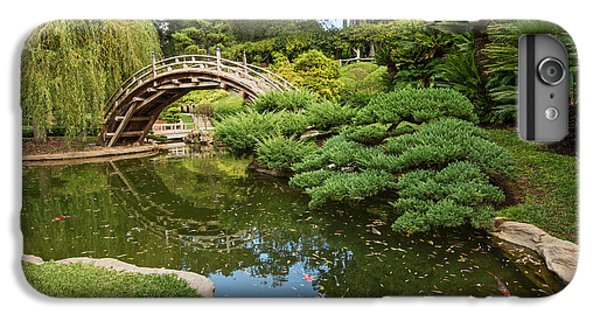 Garden Snake iPhone 6 Plus Case - Lead The Way - The Beautiful Japanese Gardens At The Huntington Library With Koi Swimming. by Jamie Pham