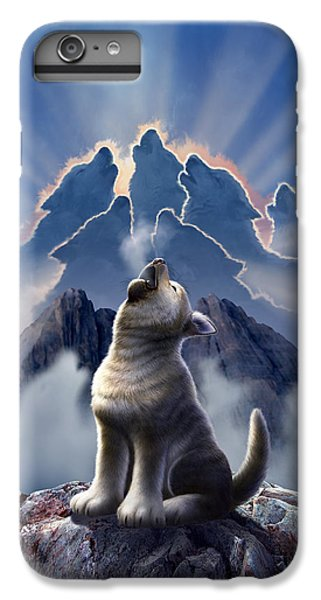 Leader Of The Pack IPhone 6 Plus Case by Jerry LoFaro