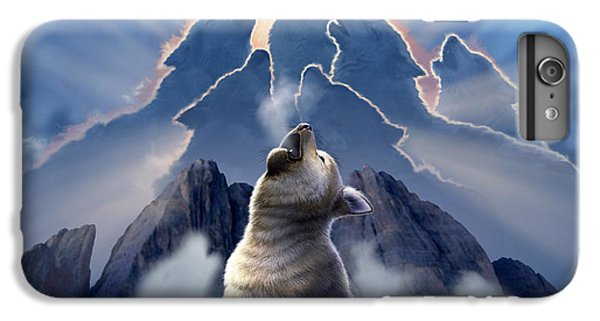 Wildlife iPhone 6 Plus Case - Leader Of The Pack by Jerry LoFaro
