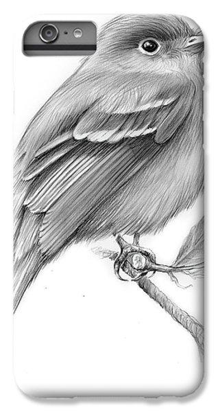 Least Flycatcher IPhone 6 Plus Case by Greg Joens