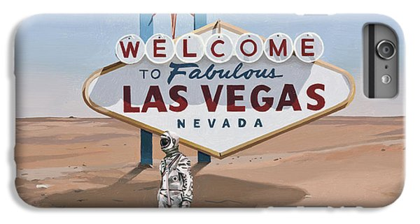 Astronauts iPhone 6 Plus Case - Leaving Las Vegas by Scott Listfield
