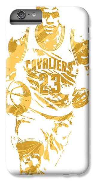 Lebron James Cleveland Cavaliers Pixel Art 7 IPhone 6 Plus Case