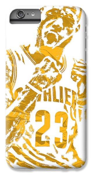 Lebron James Cleveland Cavaliers Pixel Art 9 IPhone 6 Plus Case