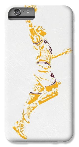 Lebron James Cleveland Cavaliers Pixel Art IPhone 6 Plus Case