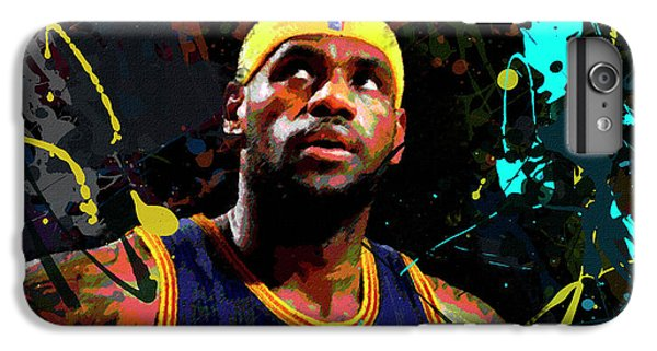 Lebron IPhone 6 Plus Case by Richard Day