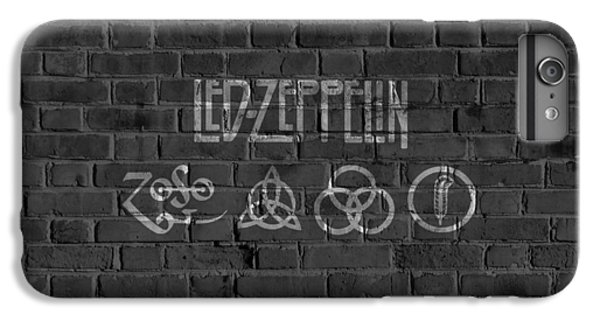 Led Zeppelin Brick Wall IPhone 6 Plus Case by Dan Sproul