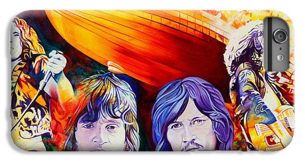Rock Music Jimmy Page iPhone 6 Plus Case - Led Zeppelin by Joshua Morton