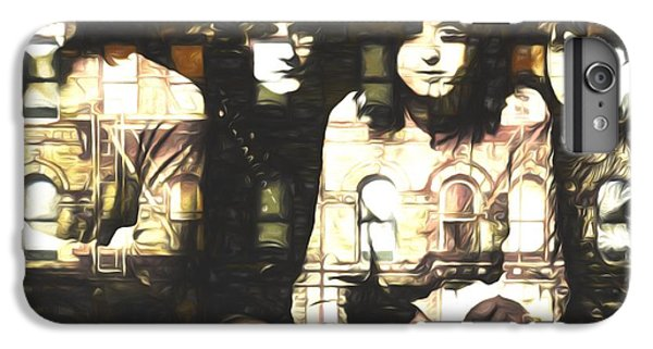 Rock Music Jimmy Page iPhone 6 Plus Case - Led Zeppelin Physical Graffiti by Dan Sproul