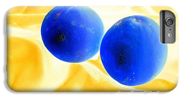 Lemon Blue IPhone 6 Plus Case by Florene Welebny