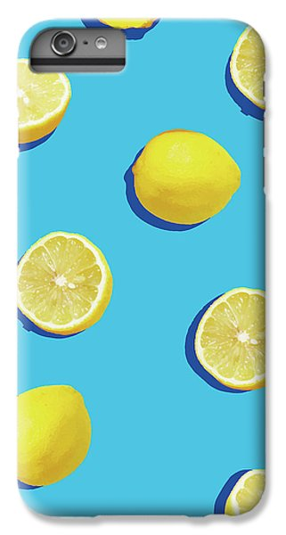 Lemon Pattern IPhone 6 Plus Case