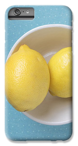 Lemon Pop IPhone 6 Plus Case by Edward Fielding