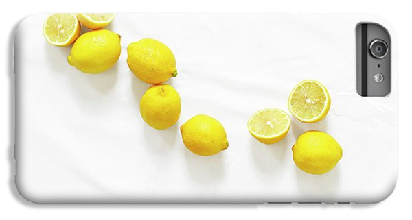 Lemons IPhone 6 Plus Case by Lauren Mancke