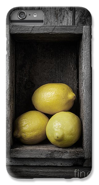 Lemons Still Life IPhone 6 Plus Case by Edward Fielding