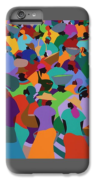 Les Palmes Market Haiti IPhone 6 Plus Case