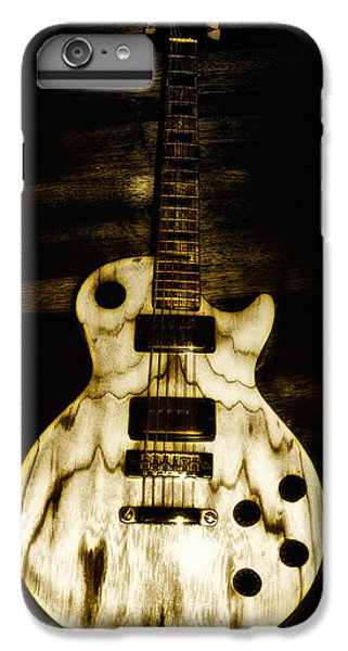 Music iPhone 6 Plus Case - Les Paul Guitar by Bill Cannon