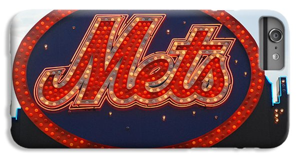 New York Mets iPhone 6 Plus Case - Lets Go Mets by Richard Bryce and Family
