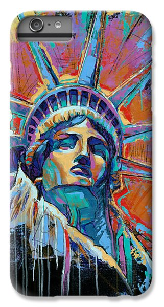 Liberty In Color IPhone 6 Plus Case by Damon Gray