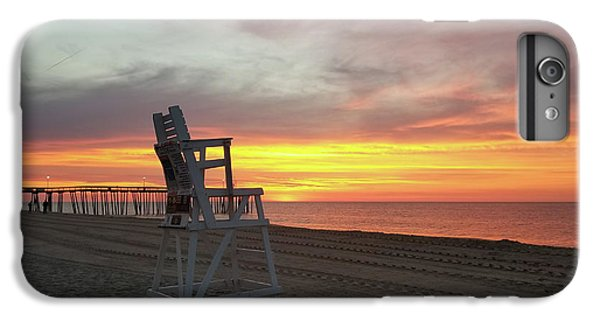 Lifeguard Stand On The Beach At Sunrise IPhone 6 Plus Case