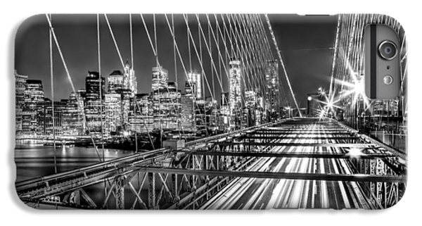 Light Trails Of Manhattan IPhone 6 Plus Case by Az Jackson