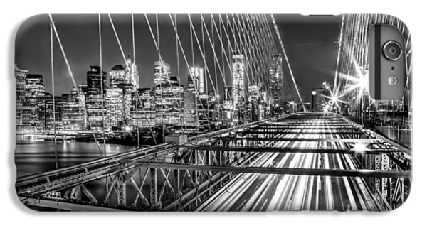 Light Trails Of Manhattan IPhone 6 Plus Case by Az Jackson