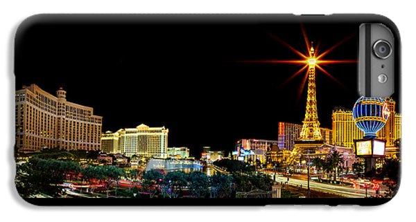 Lighting Up Vegas IPhone 6 Plus Case by Az Jackson